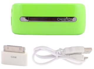 Buy Charzon Power Bank Valentine 6000 mAh (Green ) at Rs. 419  after Cashback