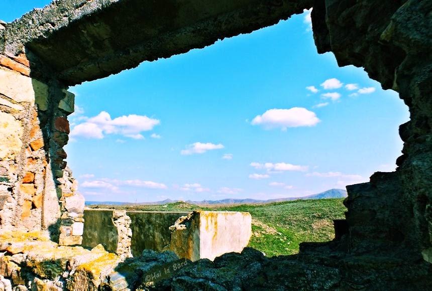 peisaj de la cetatea troesmis
