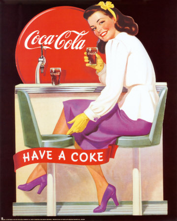 all about abbie coca cola ads from the 50 39 s and 60 39 s. Black Bedroom Furniture Sets. Home Design Ideas