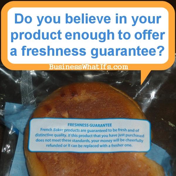 French Baker Freshness Guarantee