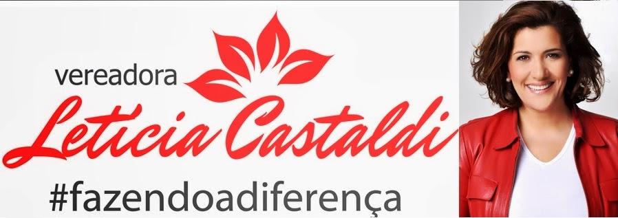 Vereadora Letícia Castaldi