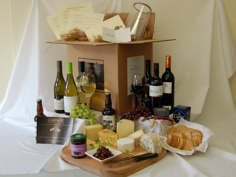 Wine and Cheese in a Box