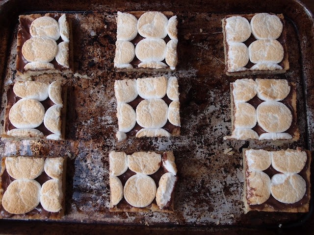 Milk and Honey: Toasted Marshmallow Squares