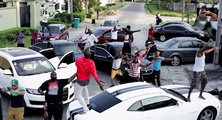 Photos from Skelewu Video Clip