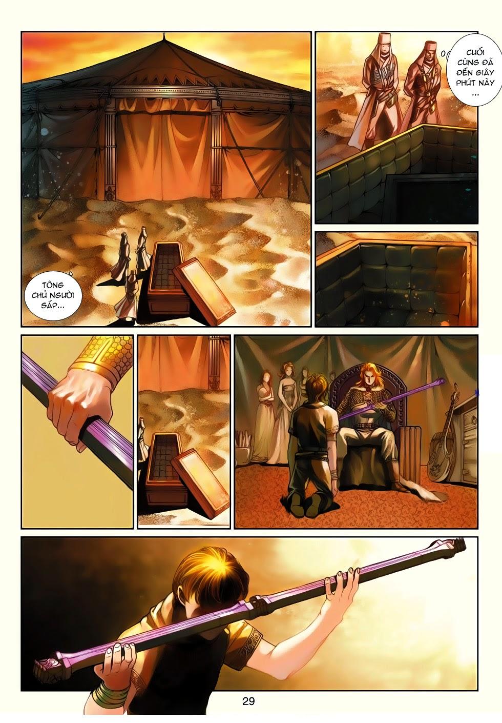 Thần Binh Tiền Truyện 4 - Huyền Thiên Tà Đế chap 13 - Trang 29