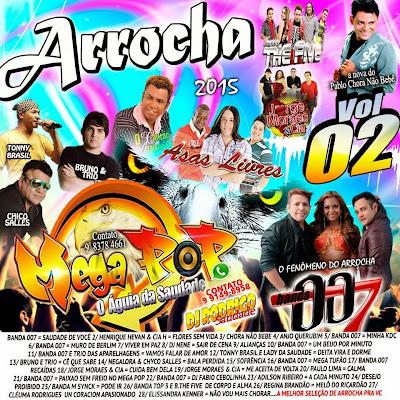 CD ARROCHA VOL.2 MEGA POP O ÁGUIA DA SAUDADE