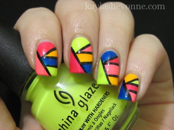 Colorful nail designs tumblr
