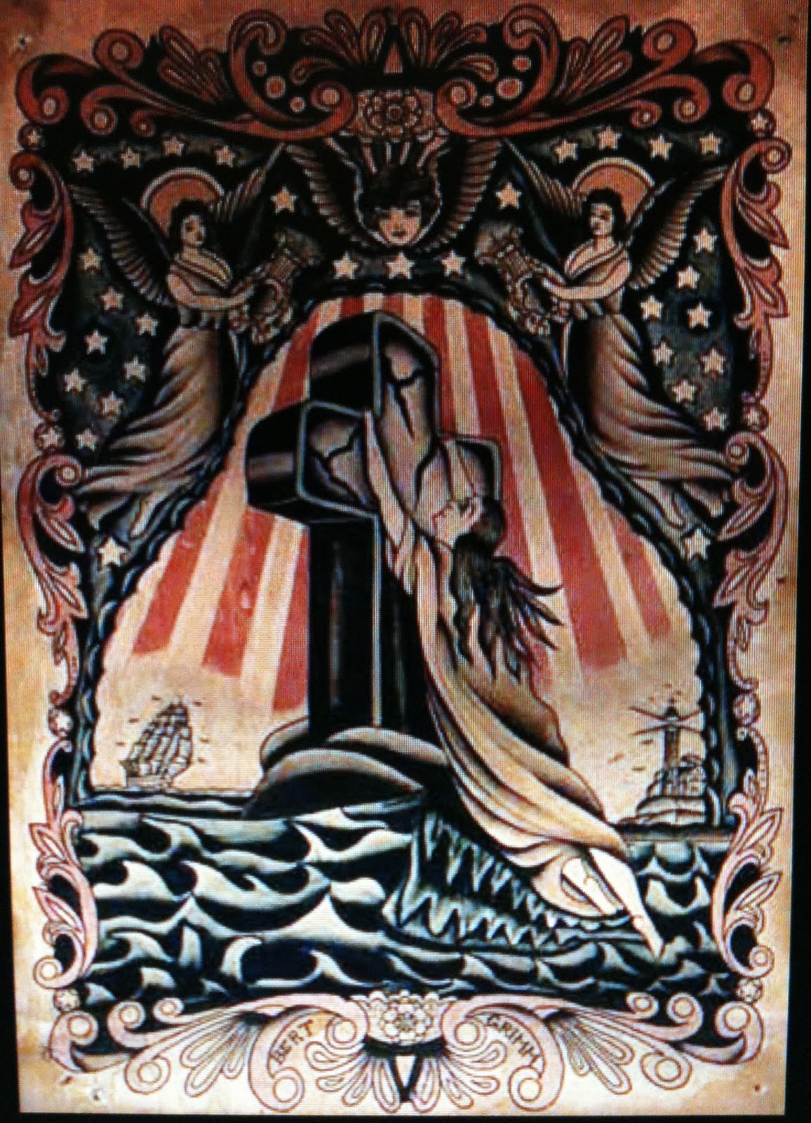 Xtimemachinex a few vintage 1910 1940 american tattoo for Classic american images