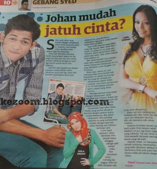 Johan As'ari Mudah Jatuh Cinta? | Pengakuan mengejutkan Johan As'ari yang jatuh cinta dengan Lana Nordin setelah 3 hari berjumpa membuatkan satu Malaysia kecoh dengannya.