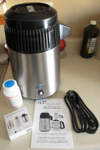 Do It Yourself Water Distiller ~ Kay s adaptable adventures h o labs countertop water