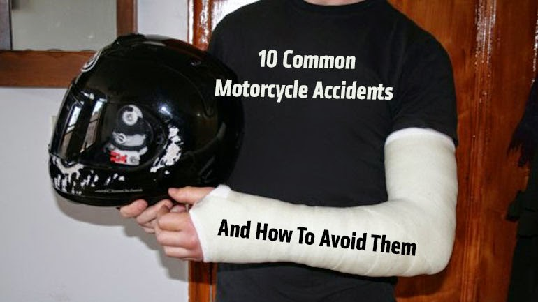Ride Safe: 10 Common Motorcycle Accidents and How to Avoid Them