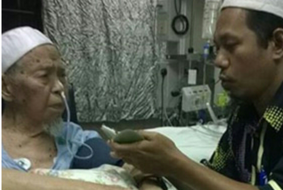 Kesudian PM Najib Lawat ayah TG NIK AZIZ beri makna besar buat kami sekeluarga Nik Mohamad Abduh