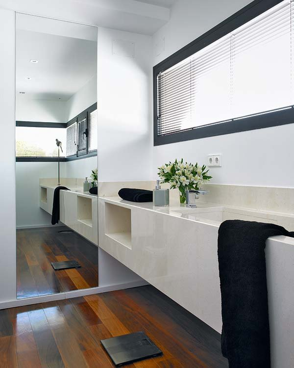 silestone basin, bathroom
