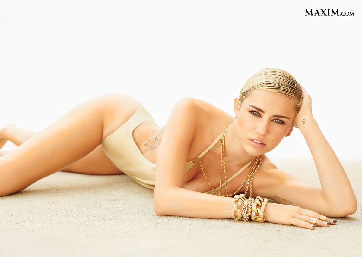 Maxim Hot 100 2013 - #1 Miley Cyrus