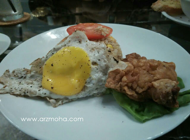 AB Cafe Fried Rice Chinese, AB Cafe, Gambar nasi goreng cina AB Cafe,