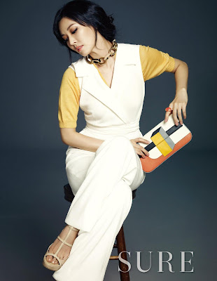 Kim So Yeon Sure Magazine April 2013