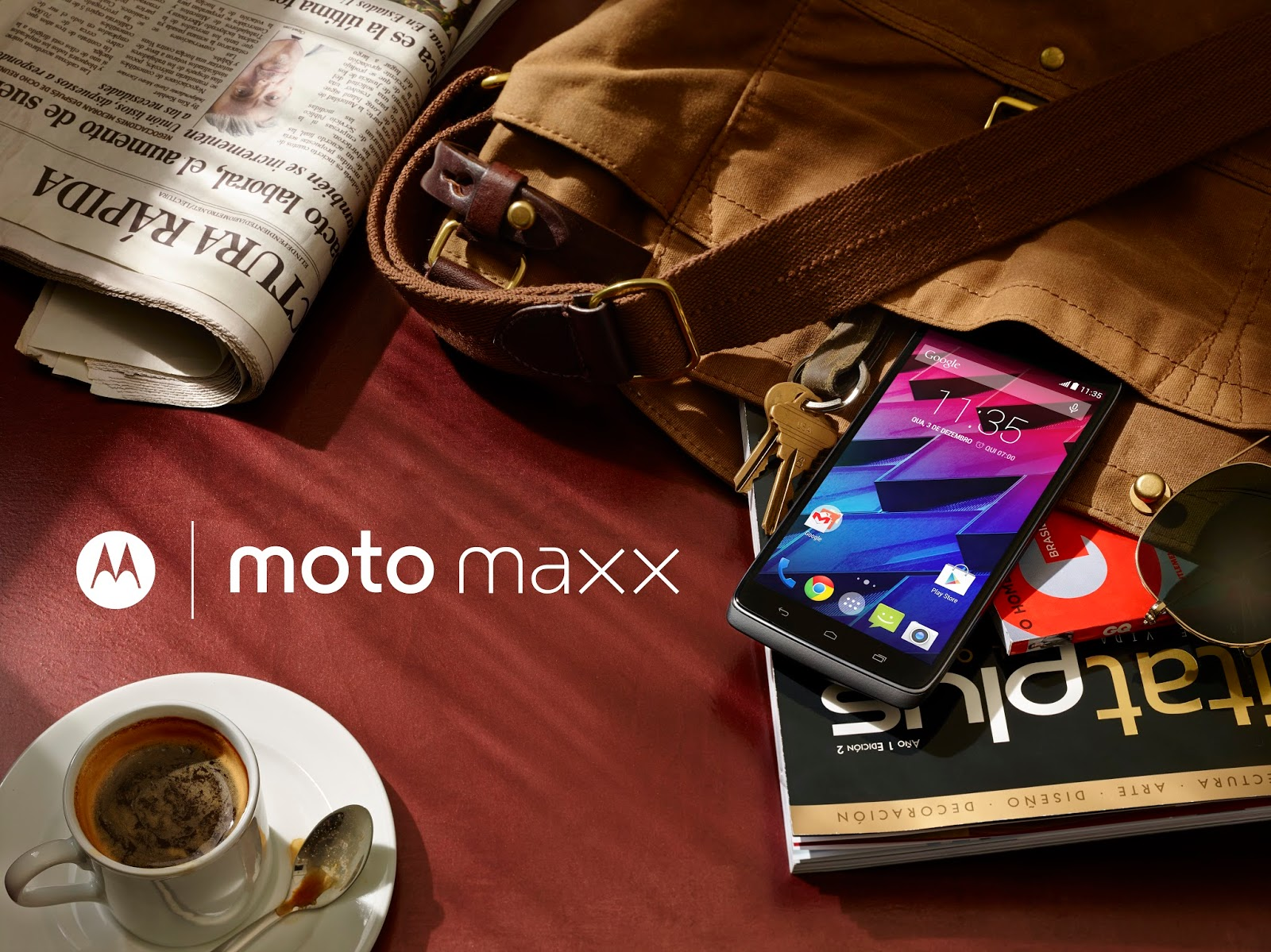 Moto Maxx: Choose to live life unplugged <h3> Coming to Brazil, Mexico and other Latin American countries soon </h3>