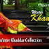 Orient Textiles Winter Khaddar Collection 2013-2014 | Khaddar Embroidered Dresses 2013-14 For Winter
