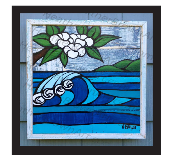surf art waikiki hawaii haleiwa north shore