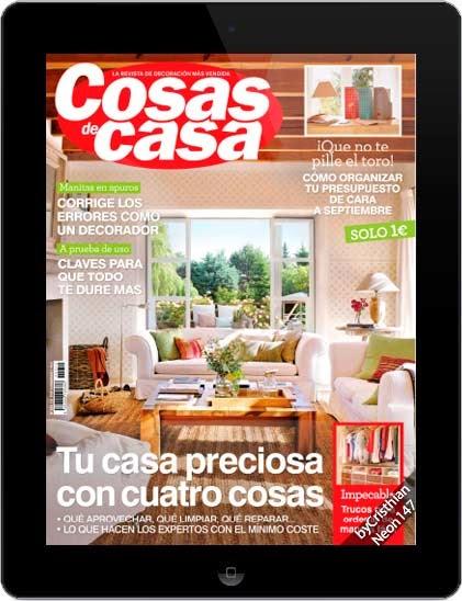 Revista cosas de casa agosto 2014 espa ol tu casa for Cosas de casa revista decoracion