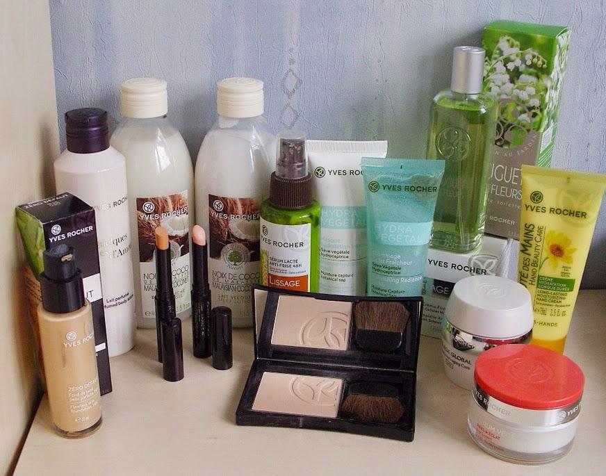 Moje recenzje kosmetyk�w Yves Rocher : marca 2015