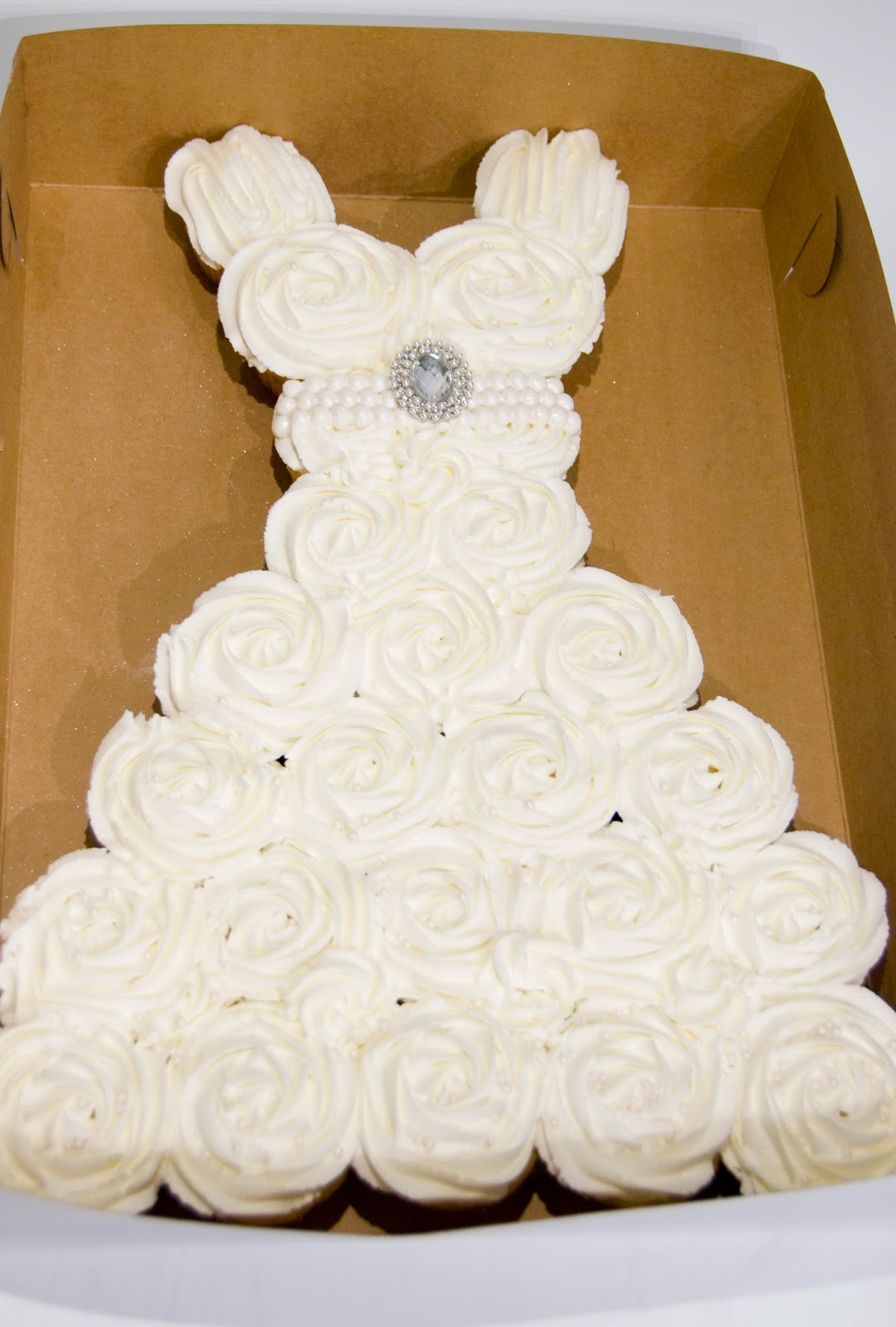 Wedding Gown Cupcakes