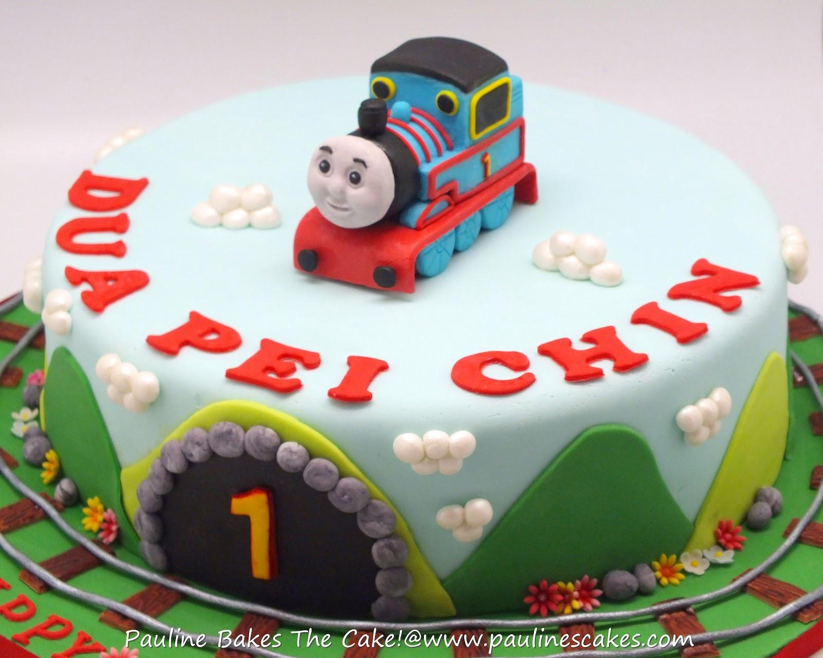 Pauline Bakes The Cake Pei Chins 1st Thomas The Engine
