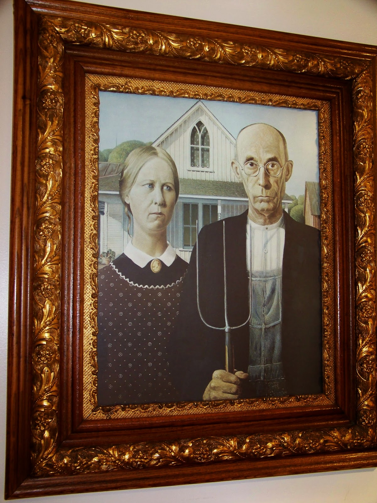 The American Gothic Center Offers Costumes Glasses And Hay Forks For You To Make Your Own Parody Of Painting Their Friendly Staff Will Even Help Take