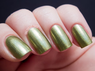 China Glaze Hologlam Collection OMG a UFO nail polish