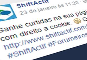 Shiftactif - Dando muito mais vida a sua comunidade Hastag_1