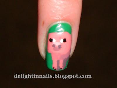 Minecraft Pig Manicure