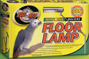 Budgies are awesome uv lamp for budgies avian sun for Avian sun deluxe uv floor lamp stand for parrots