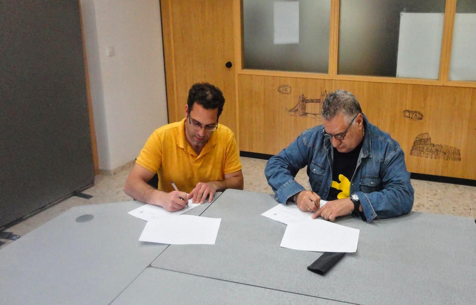 Se firmó el convenio de colaboración con Fundación Asistencial Papelera!!