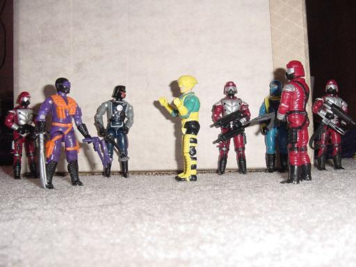 1991 Night Vulture, Air Commandos, Interrogator, Crimson Guard Immortal, Cobra Commander, Sky Creeper, 1992