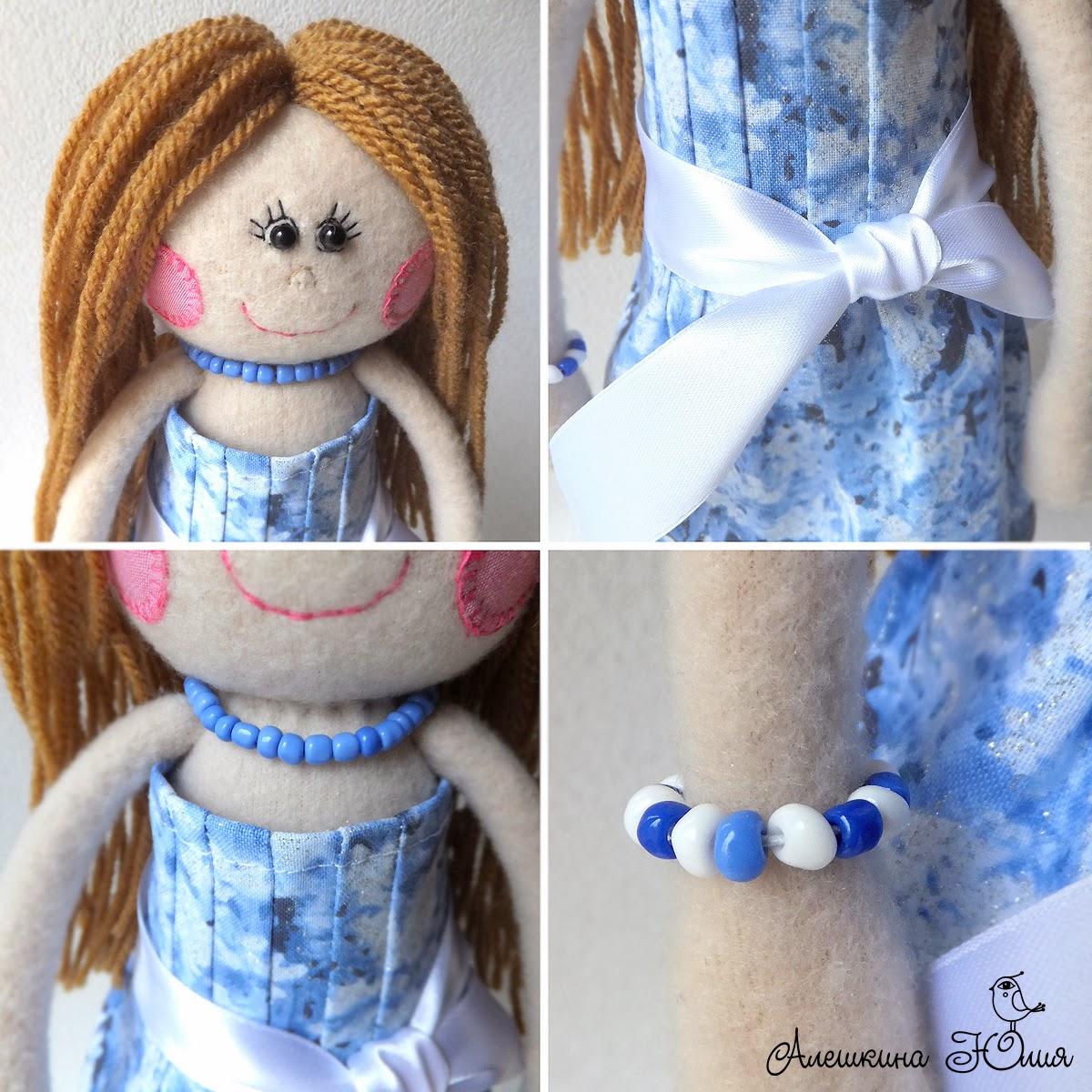 забавные куклы из флиса