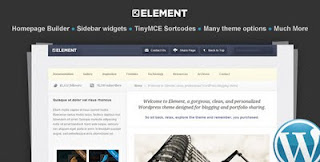 Free Download Element WP - WordPress Template