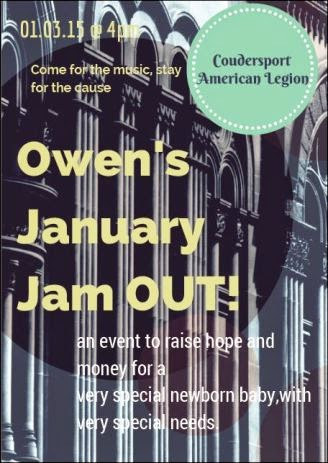 1-3 Owens January Jam OUT!