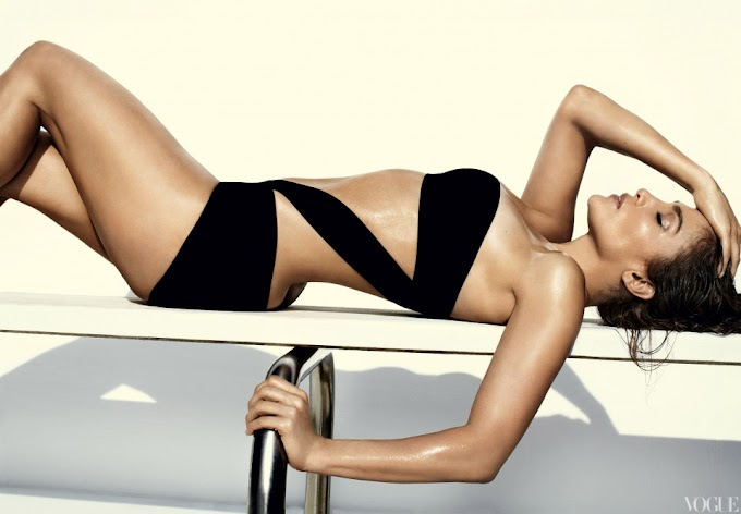 J Lo's Photoshoot for Vogue
