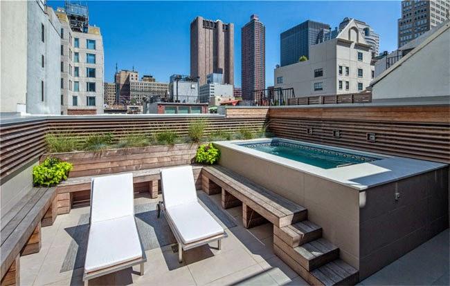 Casas minimalistas y modernas terrazas modernas modern for Terrazas pequenas minimalistas