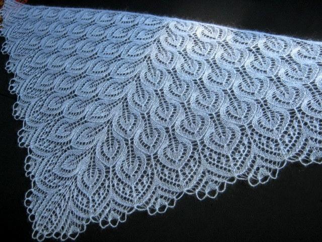 Из какой нитки связать шаль