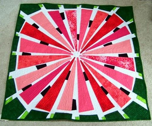 Attic Window Quilt Shop: WATERMELON IS GREAT FOR SUMMER : watermelon quilt - Adamdwight.com
