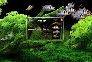 Screensaver Aquarium Keren
