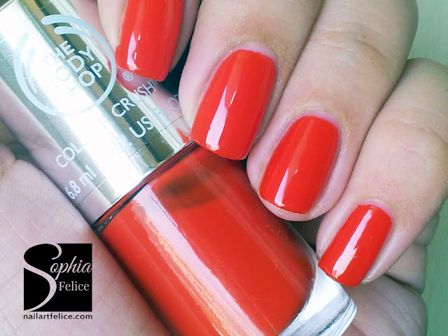 colour crush nails 130 red my mind