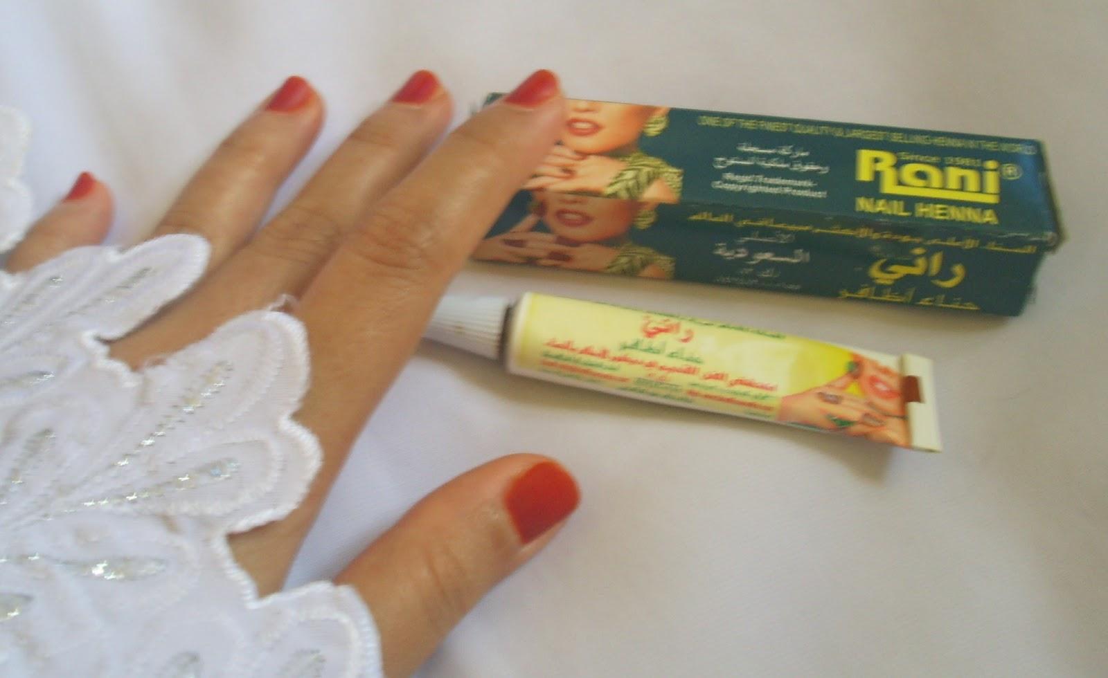 Nael39s Note RANI Nail Henna Pacar Kuku
