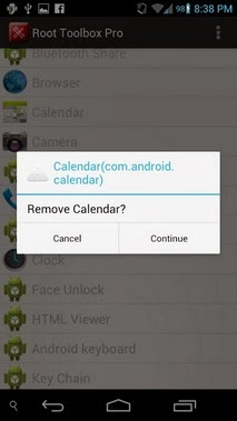 Root Toolbox PRO android apk - Screenshoot