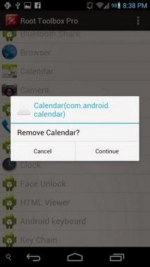 Root Toolbox PRO android apk - Screenshoot