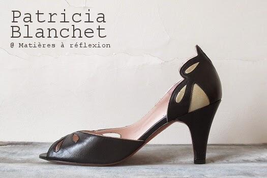nouvelle collection Escarpins Patricia Blanchet