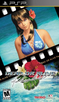 Dead or Alive Paradise PSP Game Cover Photo