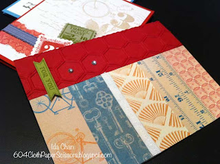 Spring Stamp-a-stack cards Fan Fair by Ida Chan