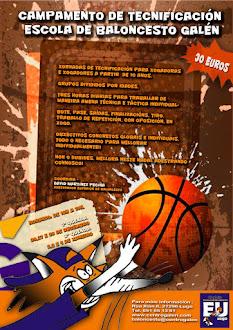 Campamento Tecnificación Escola Baloncesto Galén